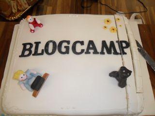 BlogCamp-cake
