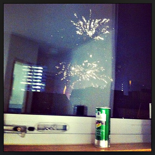 Gin-and-fireworks