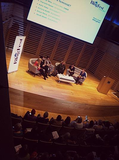 Blogfest feminism debate