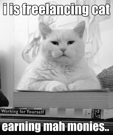 Freelancing-Cat