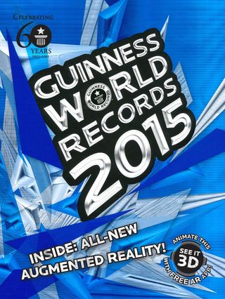 Guinness world records 2015 cover