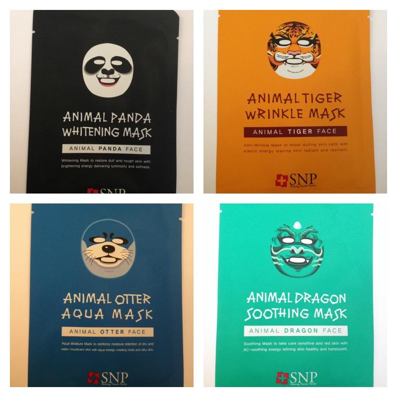 SNP animal masks