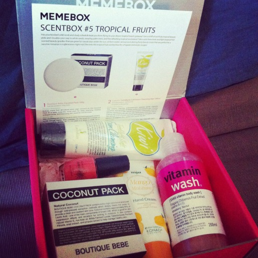 Memebox scentbox tropical fruits