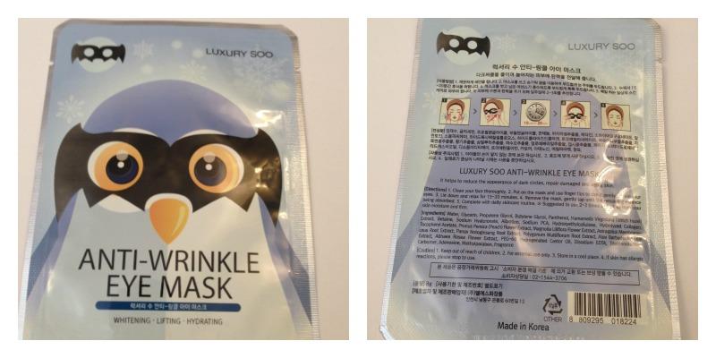 Luxury soo eye wrinkle mask